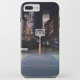 Basketball court New York City iPhone Case