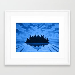 Isle of the Spirits  Framed Art Print