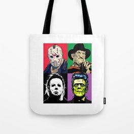 Horror Pop Art Tote Bag
