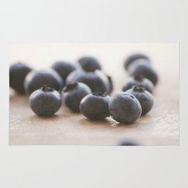 Blue Fruit Rug
