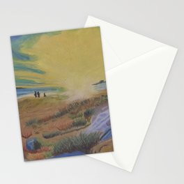 Sunset at hte Beach Stationery Cards
