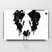 castlevania iPad Cases featuring I LOVE Castlevania by Marcos Raya Delgado