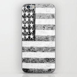 Grunge American Flag iPhone Skin