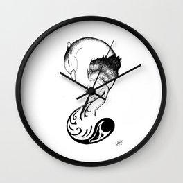 Phone Design 01 Wall Clock