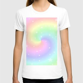 Rainbow Swirls and Stars T-shirt