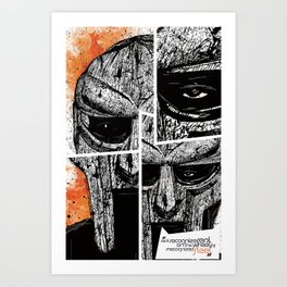 MF Doom Art Print
