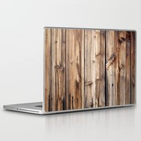 wood Laptop & iPad Skins featuring Wood by Patterns and Textures