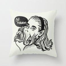 Callthulhu Throw Pillow