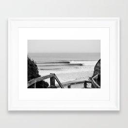 Wave of the day, Bells Beach, Victoria, Australia Framed Art Print
