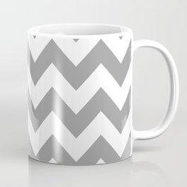 Gray Bold Chevron Coffee Mug