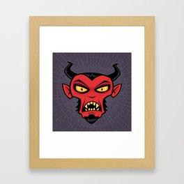 Mad Devil Framed Art Print