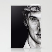 cumberbatch Stationery Cards featuring Benedict Cumberbatch  by Hannah D