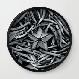 Memento Mori III Wall Clock
