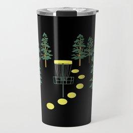 Disc Golf Stupid Trees Woods Men Women Court Gift Travel Mug