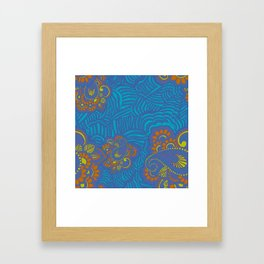 Heena Layer Framed Art Print