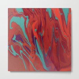 Paint Pouring 62 Metal Print