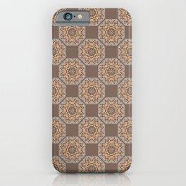Beach Tiled Pattern iPhone Case