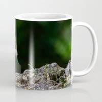 squirrel Mugs featuring Squirrel by Fine Art by Rina