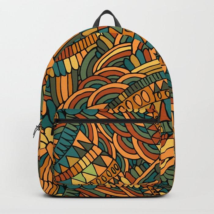 Vintage ornament Backpack