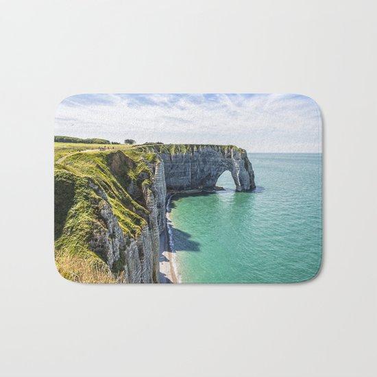 The cliffs of Etretat Bath Mat