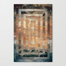 Cave abstraction Canvas Print