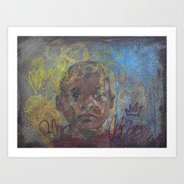 Swazi Art 7 Art Print