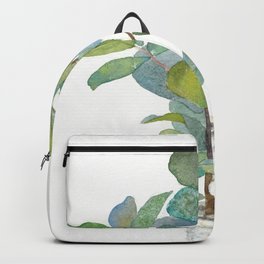 Fiddle Leaf Fig Tree Backpack