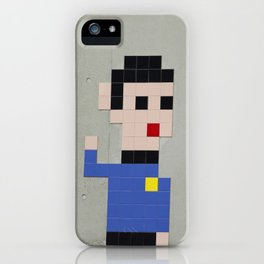 Spock Mosaic iPhone Case