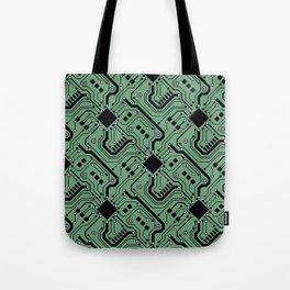 Printed Circuit Board - Color Tote Bag