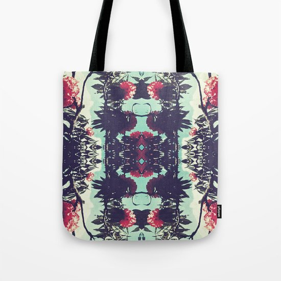 Turquoise Jewels Tote Bag