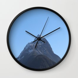 Maunga 2 Wall Clock