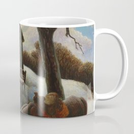 Little Brown Jug, A heartland homecoming by Thomas Hart Benson Coffee Mug