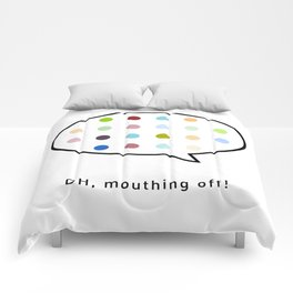 Damien Hirst, outspoken again! Comforters