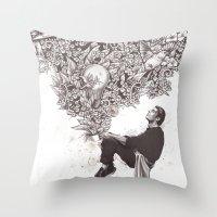 Aroma Throw Pillow