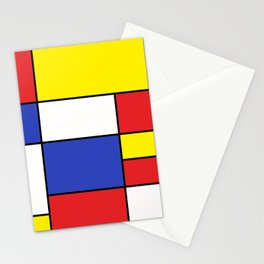 Mondrian #15 Stationery Cards