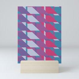 Abstract Drama #society6 #violet #pattern Mini Art Print