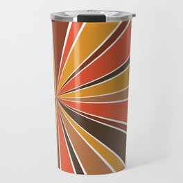 70's Star Burst Travel Mug
