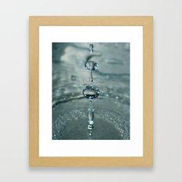Liquid Play 3 Framed Art Print
