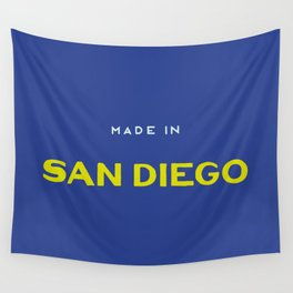 Made in San Diego Wall Tapestry