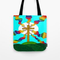 book cover Tote Bags featuring Book cover by Carrollskitchen on youtube