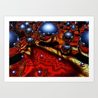 guardians Art Prints featuring Guardians by Tami Cudahy