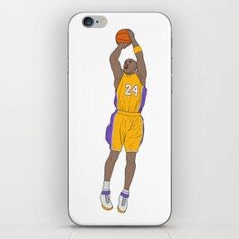 Bryant Los Angeles Basketball iPhone Skin