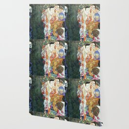 Gustav Klimt Death And Life Wallpaper