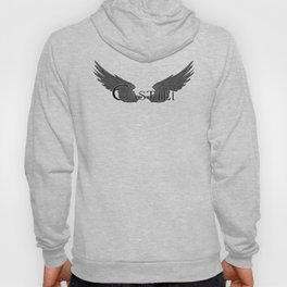 Castiel with Wings Black Hoody