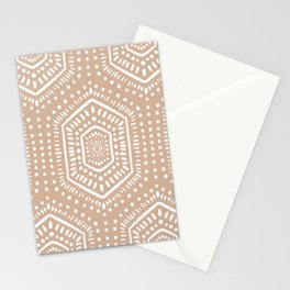 Boho Painted Vintage Pink Stationery Cards
