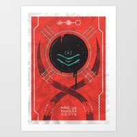 dead space Art Prints featuring Dead Space by Hector Mansilla