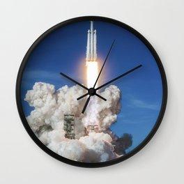 Falcon Heavy Demo Mission (2015) Wall Clock