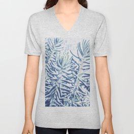 Sunday Morning Succulents Unisex V-Neck