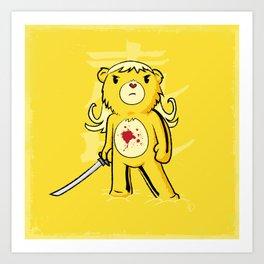 Kill Bear Art Print