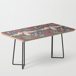 Vintage Floral Pattern 008 Coffee Table